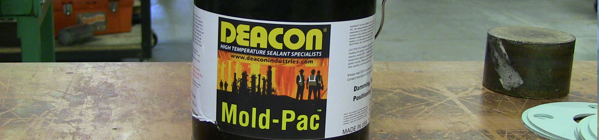 Deacon Mold-Pac Damming Putty