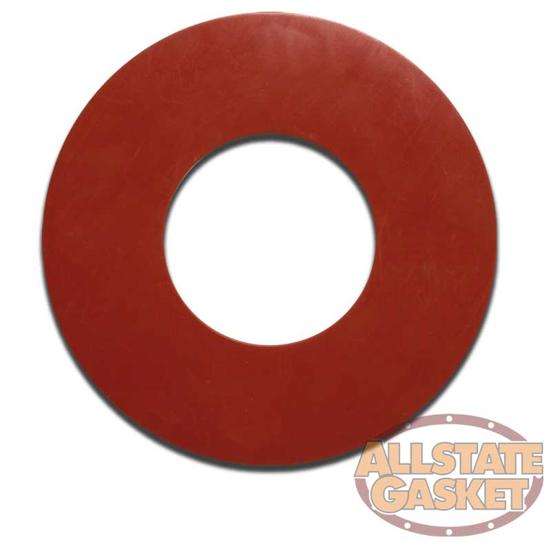 USA Sealing Full Face Viton Rubber Flange Gasket for 1 Pipe 1//8 Thick Class 150