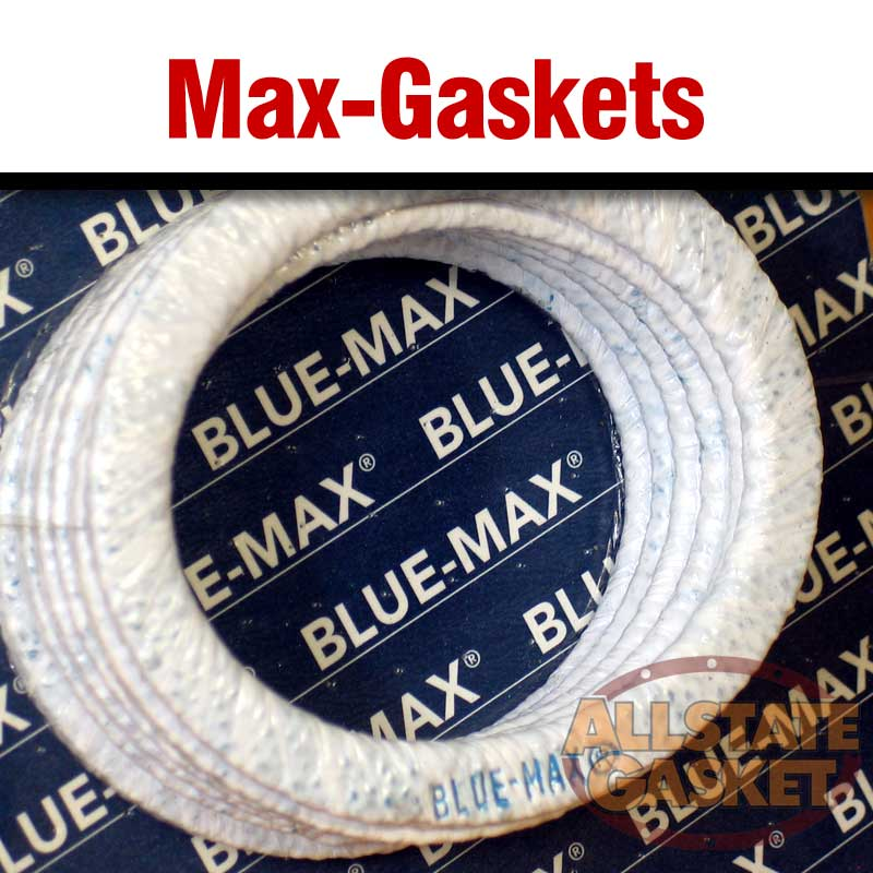 For maximum sealing on new and old flanges, use Blue-Max® GASKETS!