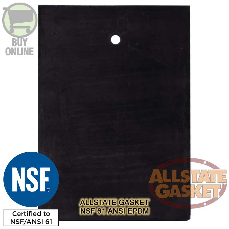NSF 61 Gaskets and NSF-61 ANSI EPDM Rubber Material