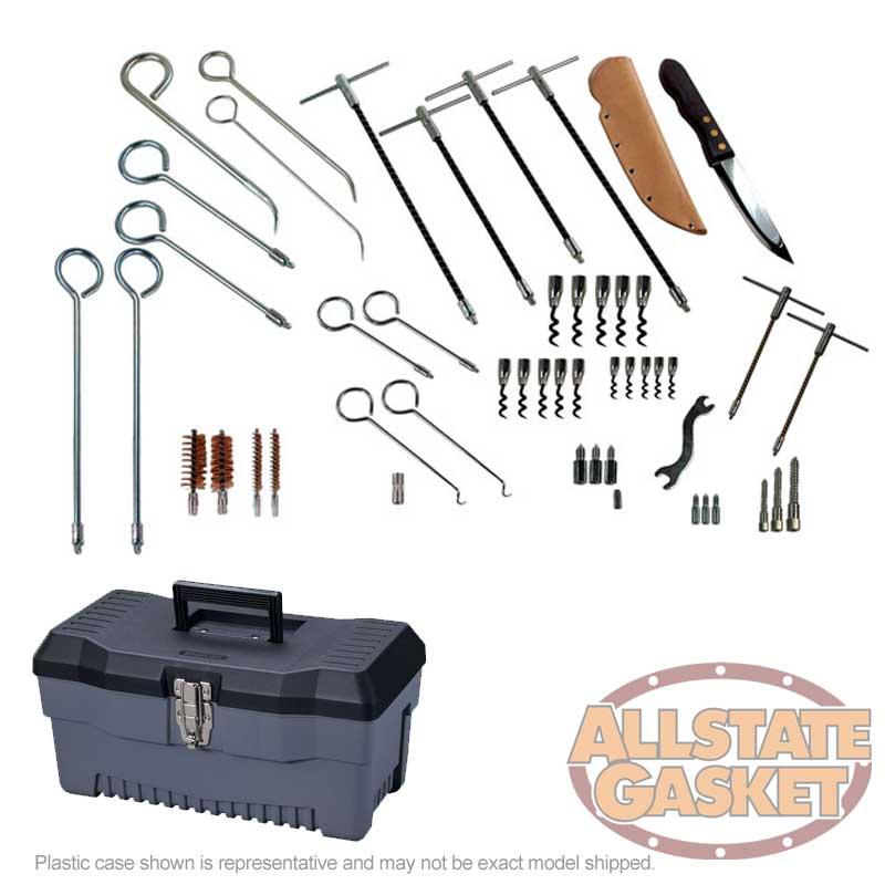 30-Piece Packing Tool Kit for Pump and Valve Packing